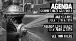 Summer 2013 Agenda Tradeshow Schedule