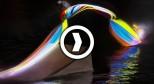 光绘滑水 – Red Bull Illume 2013