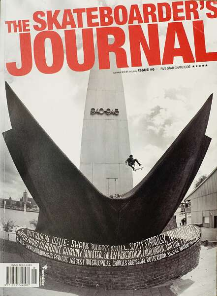 Skateboarders Journal Willy Cover_905