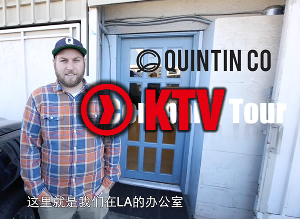 KTV Company Tour – Quintin Co. LA