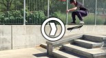 iPhone 6 Slow Motion Skateboarding (240 fps)