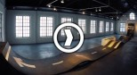 芬兰艺术中心里的滑板场