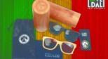 痛仰乐队xLOVEDALI滑板限量款CNC精雕竹子太阳镜