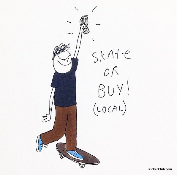 滑板插画艺术家henry