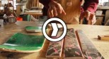 废旧滑板制作凳子!