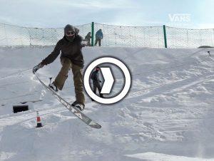 Vans Hi Standard 滑雪教学 – Ollie & 5050