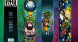 LOVEDALI 滑板携手法国画家 John 推出 Artist plus 系列