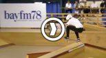 日本的第一届全国滑板比赛长这样