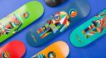 为了美好的夏季,GIRL 特地设计了艺术感爆棚的七彩滑板!