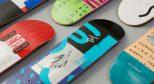 炎炎夏日,只有简约和清凉的滑板才最让我舒服!
