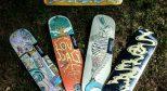 LOVEDALI滑板(LDS)Artist plus艺术+合作三日本设计师Rin林佑介合作系列发布!