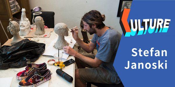 独家专访 – 最想学广东话的雕塑艺术家 Stefan Janoski