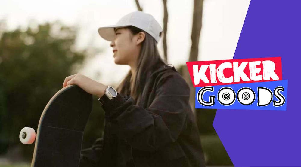 KickerGoods7 – 女滑手风格范本——刘佳的滑板装备